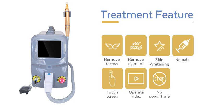 picosecond tattoo removal laser machine